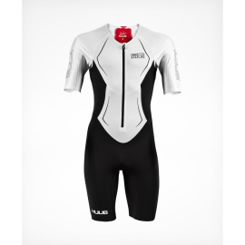 HUUB-DS-LONG COURSE-TRISUIT-WHITE-RED-FRONT-1