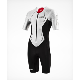 HUUB-DS-LONG COURSE-TRISUIT-WHITE-RED-FRONT-SIDE