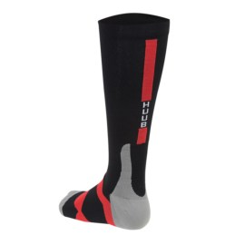 Huub-Compression-Sock-Back-Black