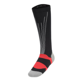 Huub-Compression-Sock-front-Black